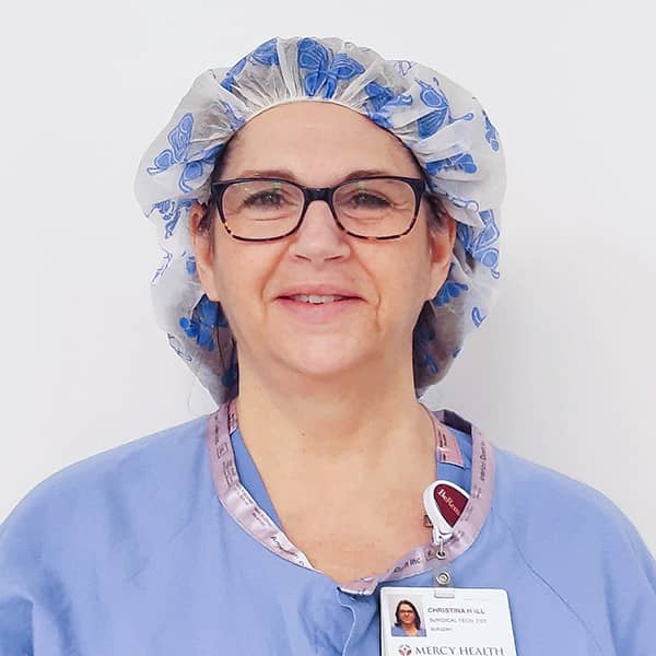 Christina Hall.Surgical Tech.Mercy Health.SEIU HCMI.1.21
